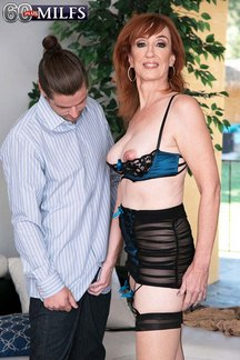 64 year old amateur sex star Diamond Red makes her third appearance at 60PlusMILFs.Com