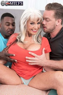 Sexy Sally D'Angelo is a living legend in granny porn