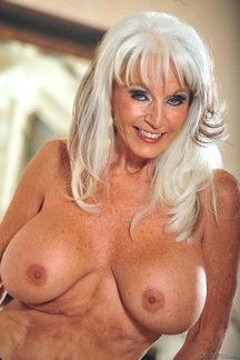 Sexy senior Sally d'Angelo lights up the screen in Nasty Grannies Love To Fuck #9