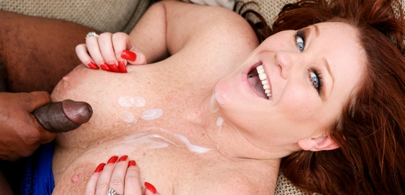Kate Fawcet takes a hot cum-load in 'Nasty Grannies'