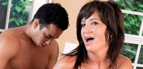 40Something sex pot Brandi Fox returns for a big dick fucking at 40SomethingMag.Com