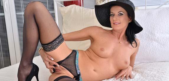 Amateur MILF sensation Celine Noiret makes her debut for anilos.com