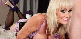 Leah L'Amour is a swinging granny who's horny for young cock