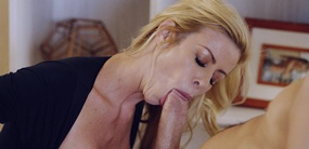 Sucking and fucking young hard cock is what porn princess Alexis Fawx loves